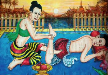 Presentación del Masaje Tailandés